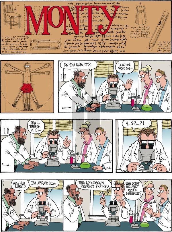 Monty on Sunday May 9, 2021 Comic Strip