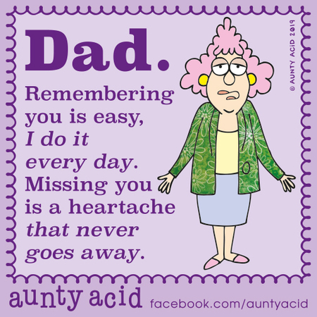 Aunty Acid Comic Strip for October 21, 2019