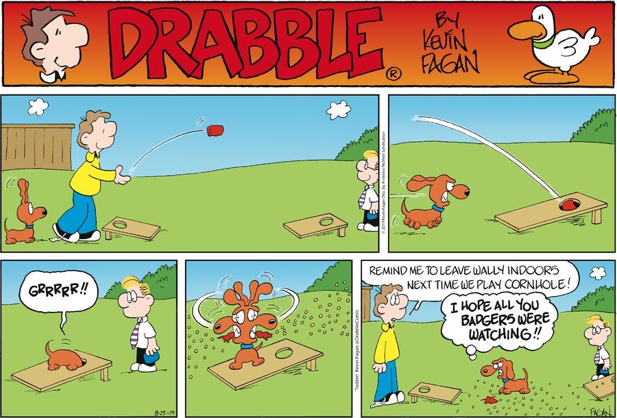 Drabble Comic Strip for August 25, 2019