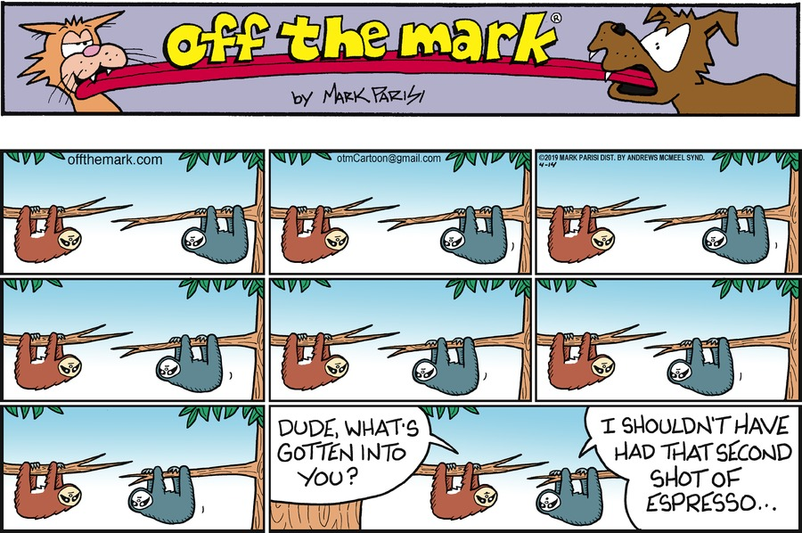 Off the Mark Comic Strip for April 14, 2019