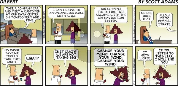 Dilbert - Sunday September 9, 2012 Comic Strip