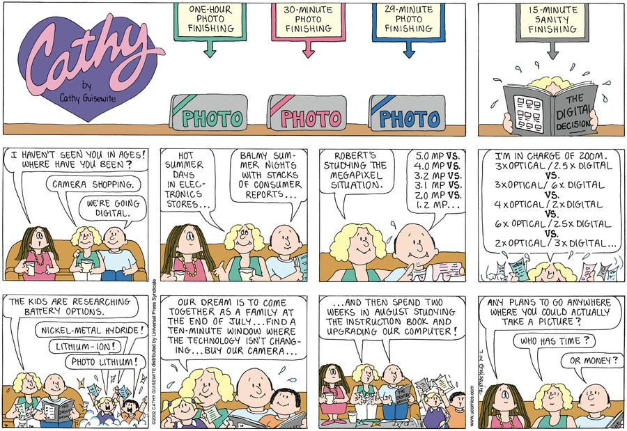 Cathy Comic Strip for July 14, 2002