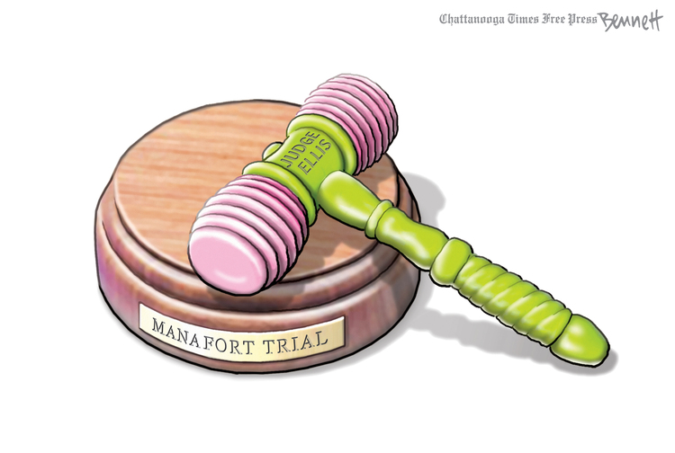 Clay Bennett by Clay Bennett for March 08, 2019