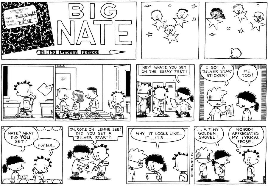 Big Nate: First Class by Lincoln Peirce for May 12, 2019