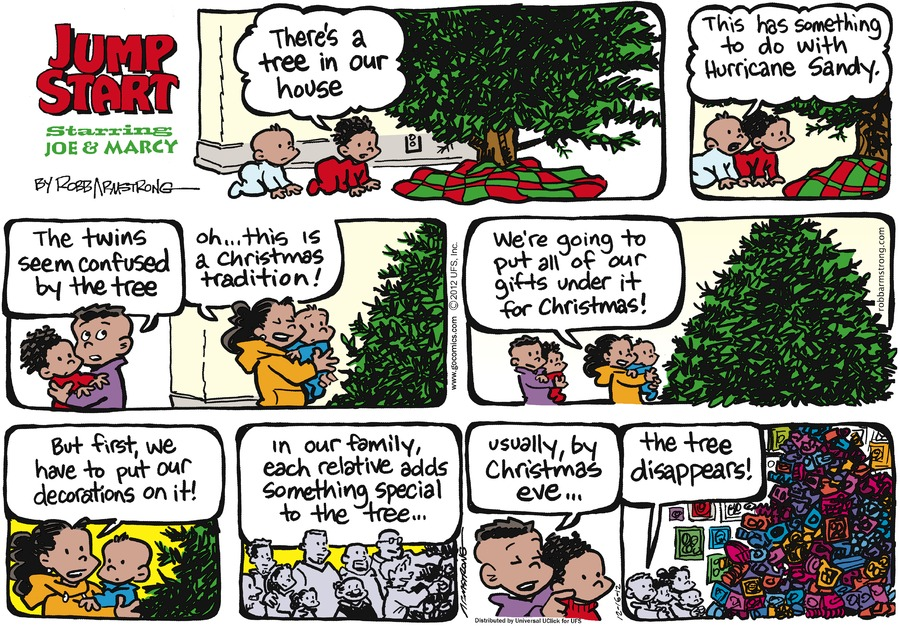 JumpStart Comic Strip for December 16, 2012