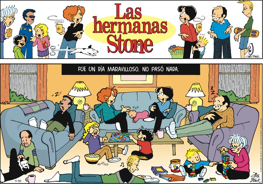 Las Hermanas Stone by Jan Eliot for September 30, 2018