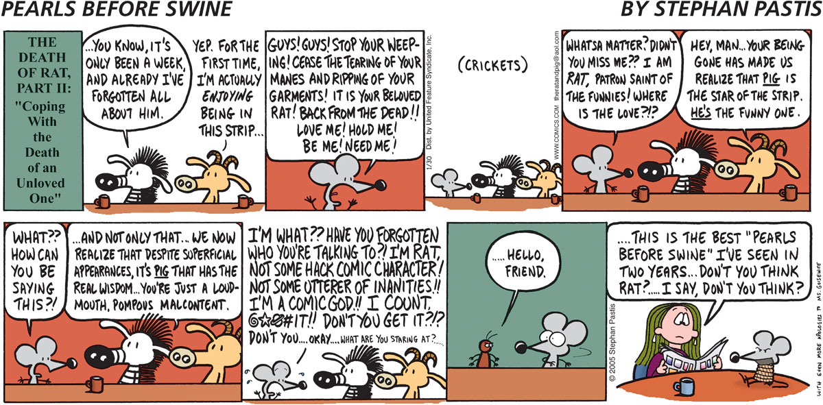 Pearls Before Swine for Jan 30, 2005 Comic Strip