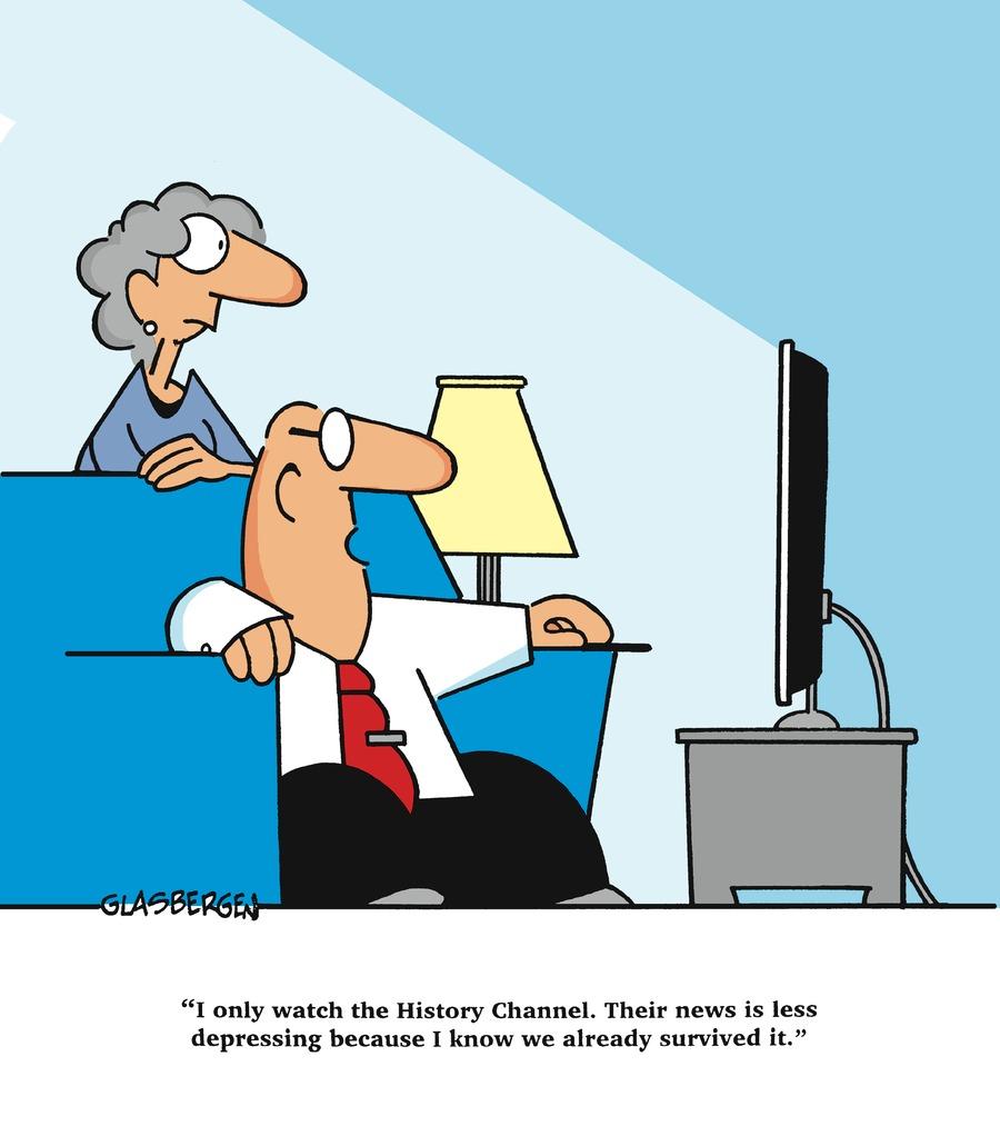 Glasbergen Cartoons Comic Strip for October 18, 2020