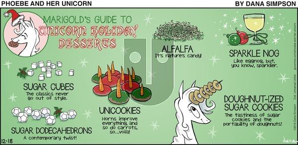 Phoebe and Her Unicorn on Sunday December 18, 2016 Comic Strip