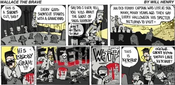 Wallace the Brave - Sunday October 28, 2018 Comic Strip