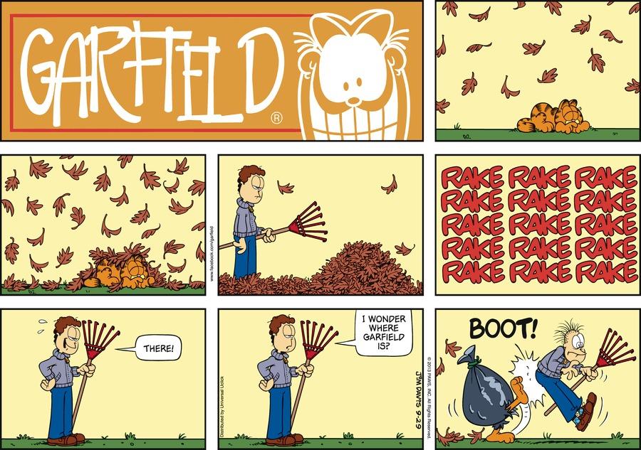 Garfield for Sep 29, 2013 Comic Strip