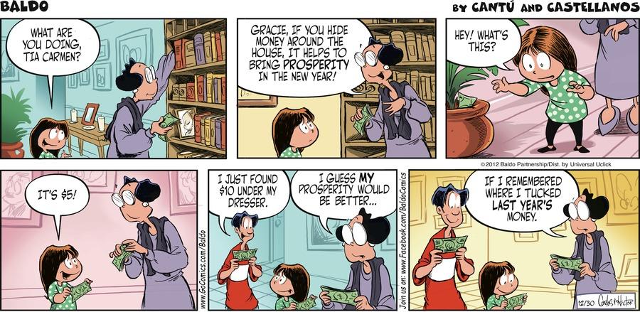 Baldo for Dec 30, 2012 Comic Strip