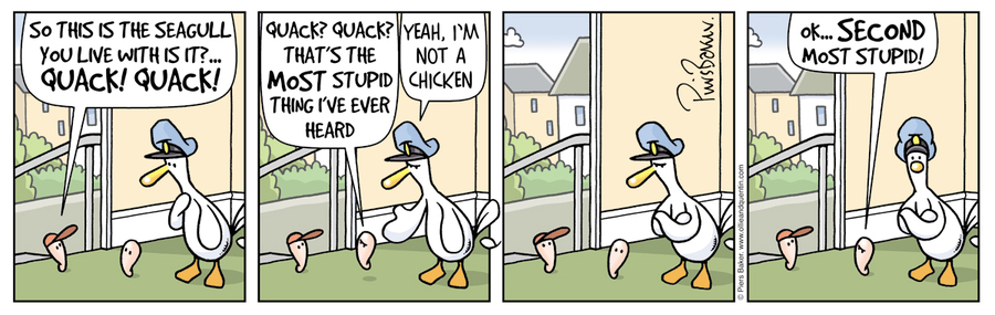Ollie and Quentin for Feb 13, 2013 Comic Strip