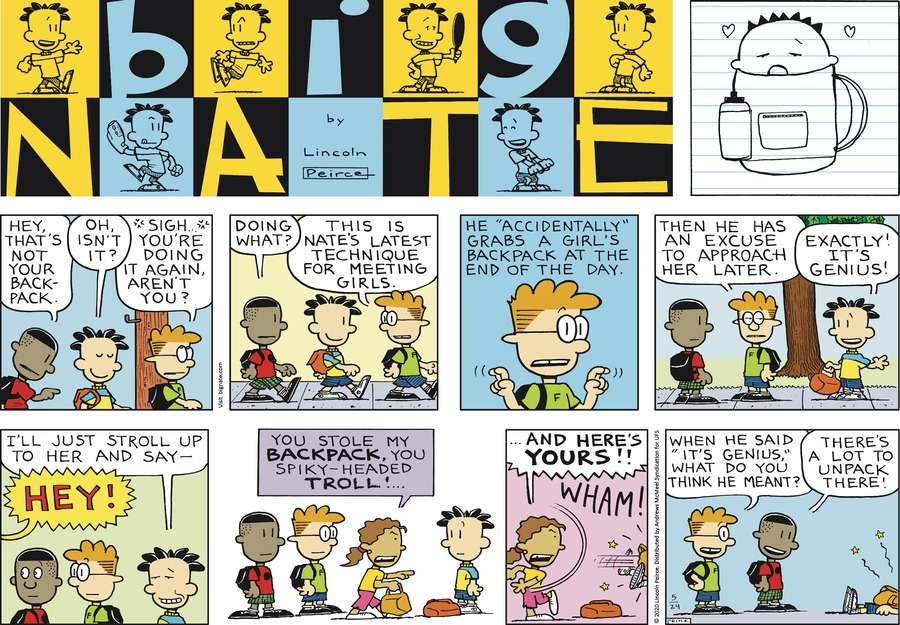 Big Nate Comic Strip for May 24, 2020