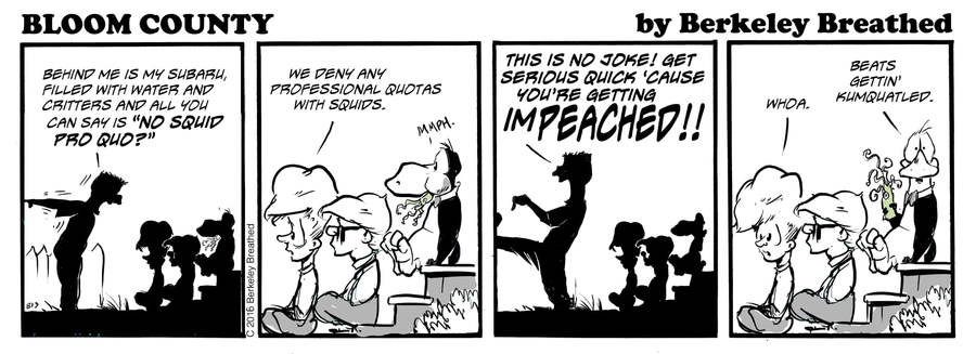Bloom County 2019 by Berkeley Breathed for October 09, 2019