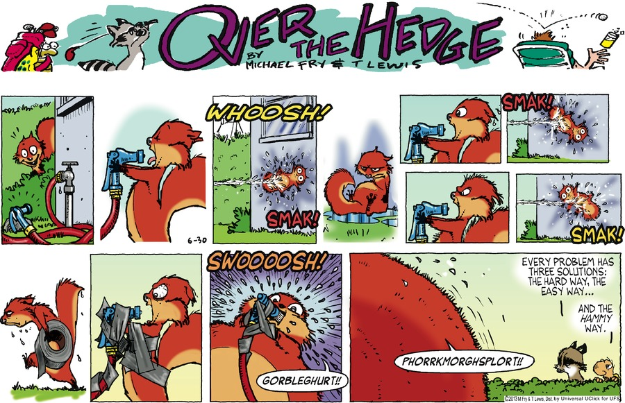 Over the Hedge for Jun 30, 2013 Comic Strip