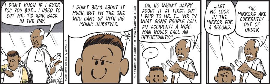 Candorville Comic Strip for September 05, 2018