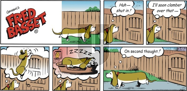 Fred Basset on Sunday November 24, 2019 Comic Strip
