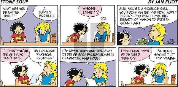 Stone Soup on Sunday October 1, 2017 Comic Strip