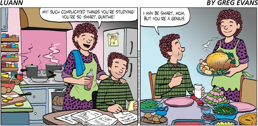 Luann Comic Strip for February 11, 2018