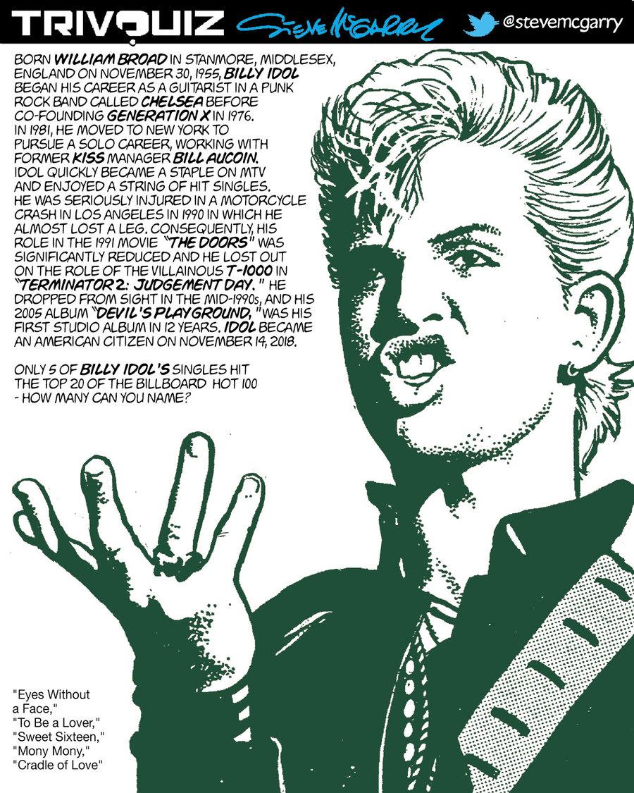 Trivquiz Comic Strip for November 30, 2018