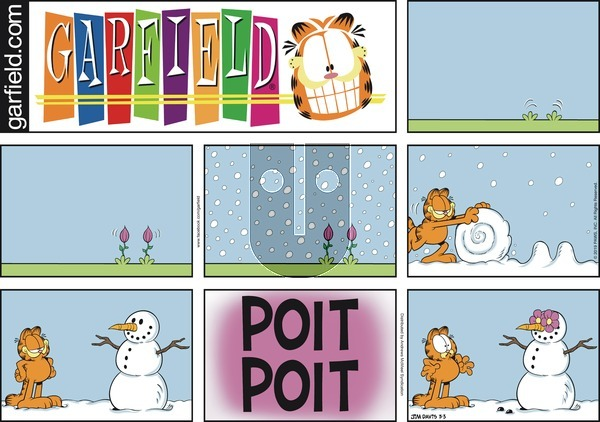 Garfield - Sunday March 3, 2019 Comic Strip