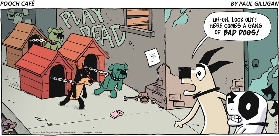 Pooch Cafe Comic Strip for July 22, 2012