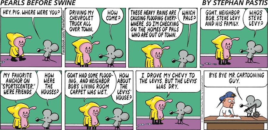 Pearls Before Swine Comic Strip for April 26, 2015