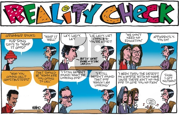 Reality Check on Sunday June 21, 2020 Comic Strip