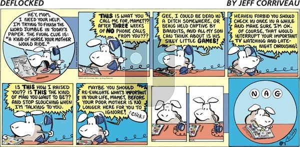 DeFlocked on Sunday July 12, 2015 Comic Strip