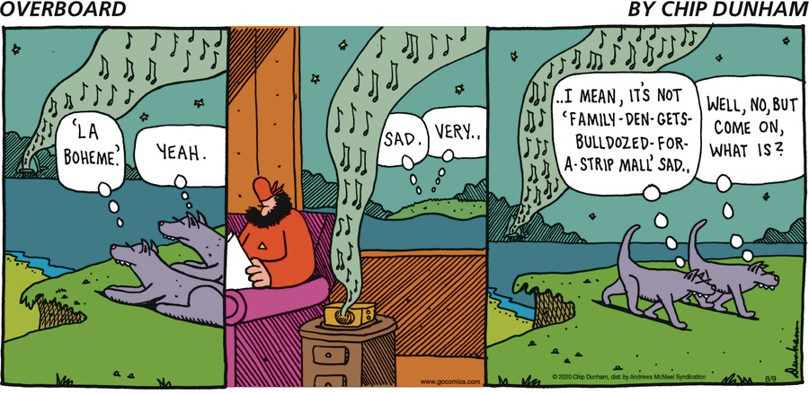 Overboard Comic Strip for August 09, 2020