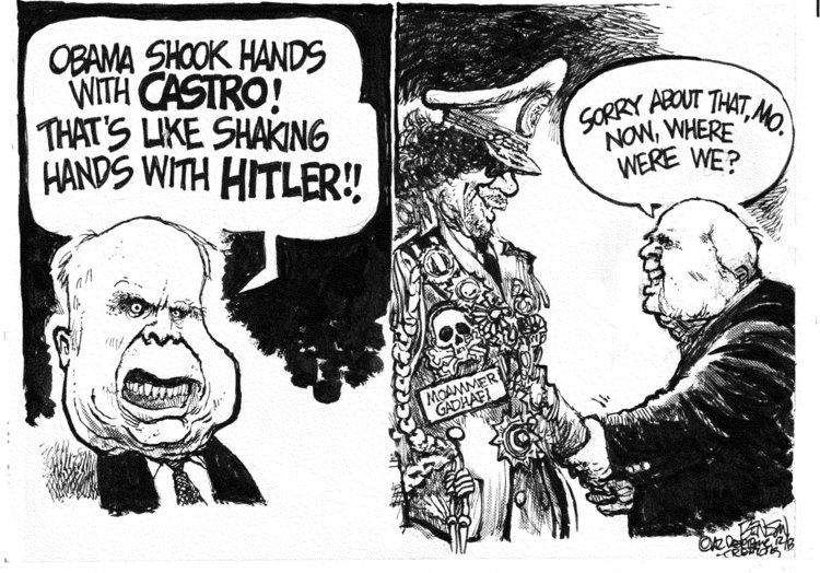 Steve Benson Comic Strip for December 12, 2013