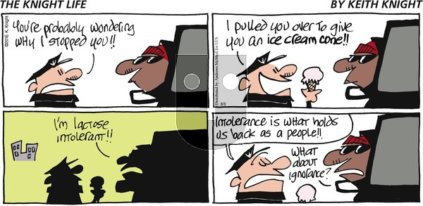 The Knight Life on Sunday March 3, 2019 Comic Strip
