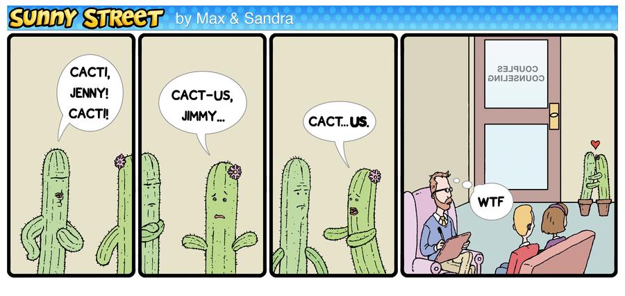 Sunny Street Comic Strip for January 01, 2016