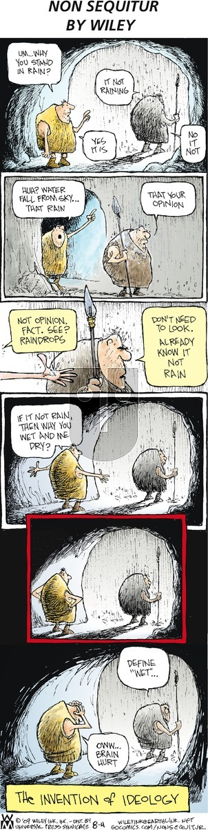 Non Sequitur on Sunday August 4, 2013 Comic Strip