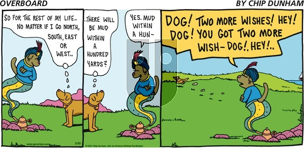 Overboard on Sunday May 30, 2021 Comic Strip