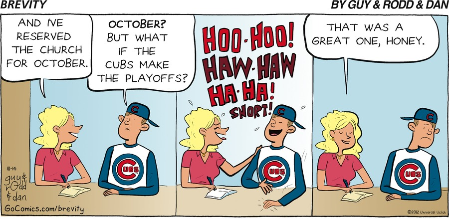 Brevity for Oct 14, 2012 Comic Strip