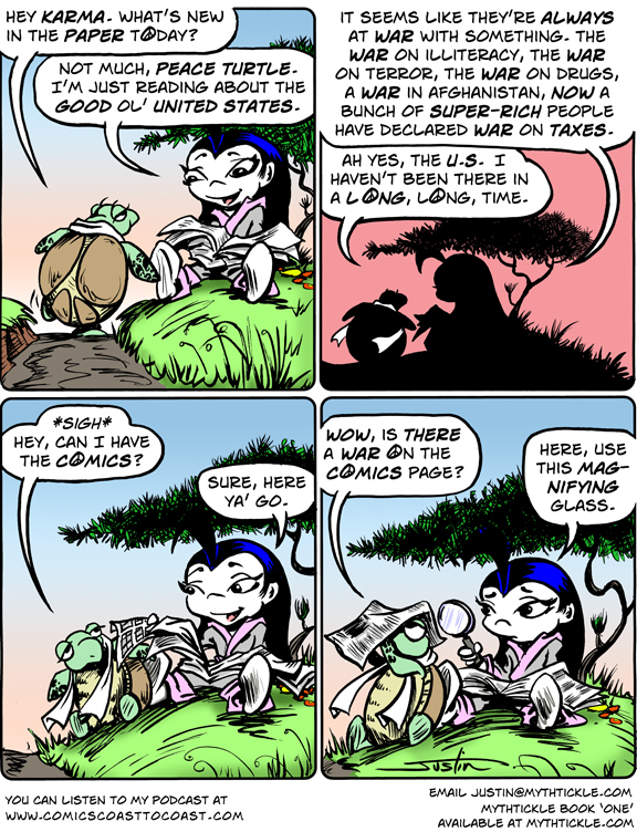 MythTickle Comic Strip for January 03, 2011