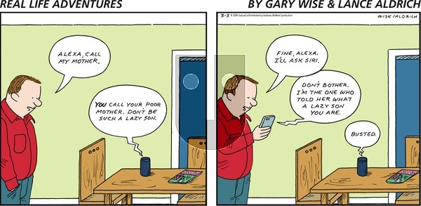 Real Life Adventures on Sunday March 3, 2019 Comic Strip