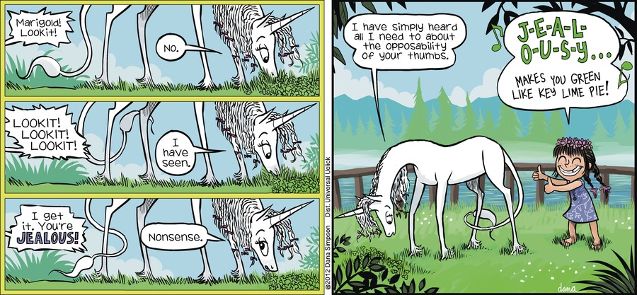 Phoebe and Her Unicorn Comic Strip for July 22, 2012