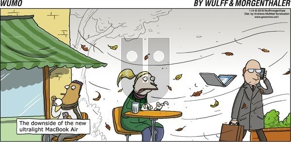 WuMo on Sunday November 4, 2018 Comic Strip