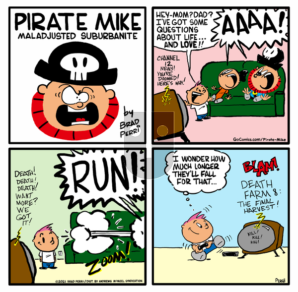 Pirate Mike on Wednesday April 21, 2021 Comic Strip