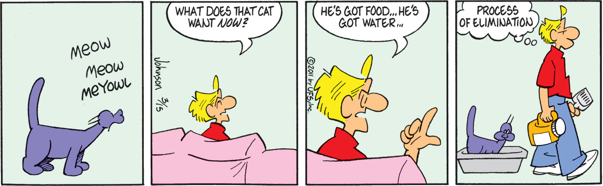 Arlo and Janis Comic Strip for March 15, 2011