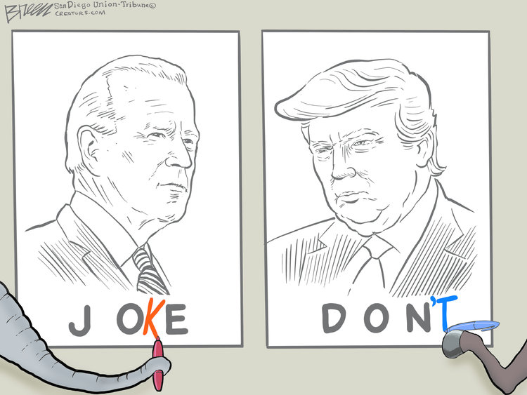 Steve Breen Comic Strip for November 02, 2020