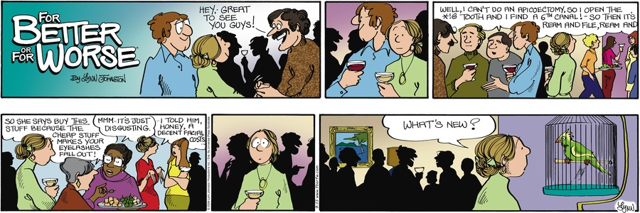 For Better or For Worse for Sep 13, 2009 Comic Strip