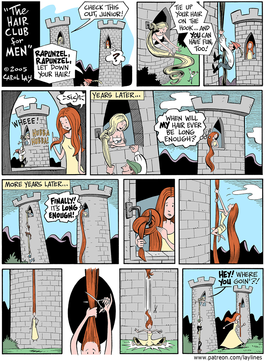 Lay Lines Comic Strip for August 05, 2016
