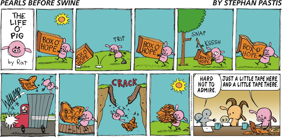 Pearls Before Swine Comic Strip for October 18, 2020