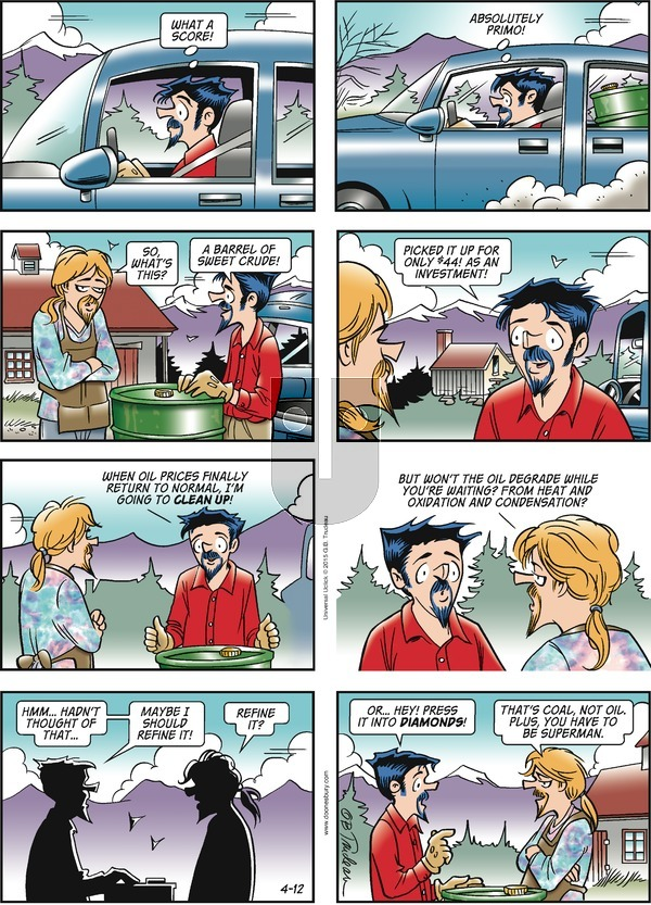 Doonesbury - Sunday April 12, 2015 Comic Strip