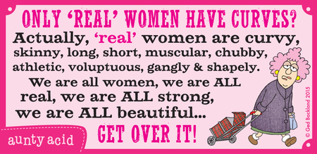 Aunty Acid Comic Strip for May 23, 2015