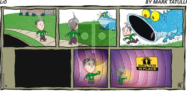 Lio on Sunday May 17, 2020 Comic Strip